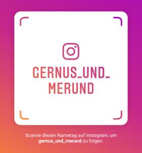 Gernus und Merund auf Instagram